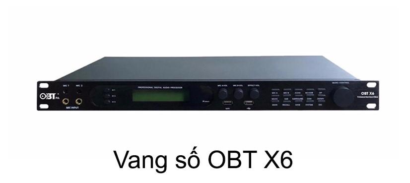 Vang số OBT X6 với khả năng kết nối Bluetooth