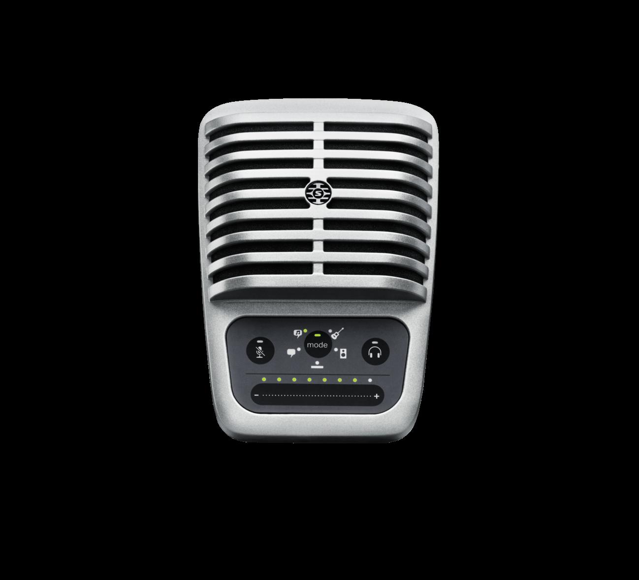 Micro livestream Shure MV51 cao cap