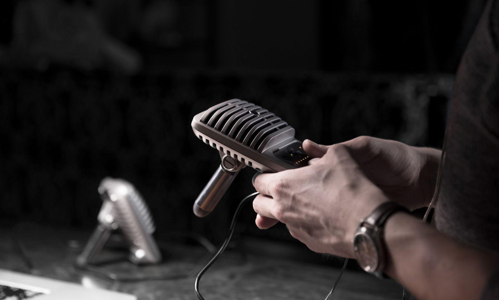 micro livestream, mic phát live stream