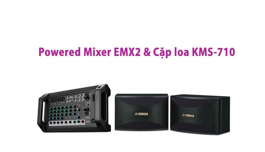 Loa Yamaha KMS-710