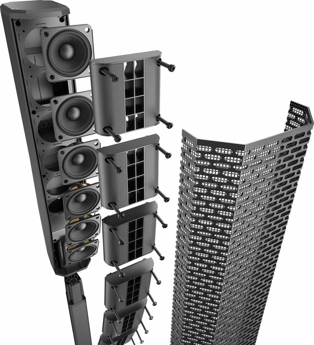 loa cột array electro voice