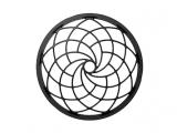 Tai nghe Sony MDR-Z7M2 có lưới loa hình họa tiết theo quy luật Fibonacci