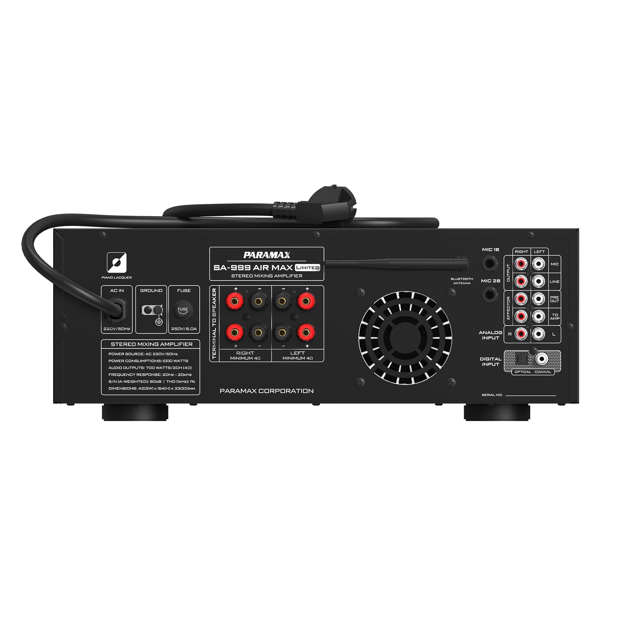 AMply Paramax SA-999 AIR MAX LIMITED mat sau