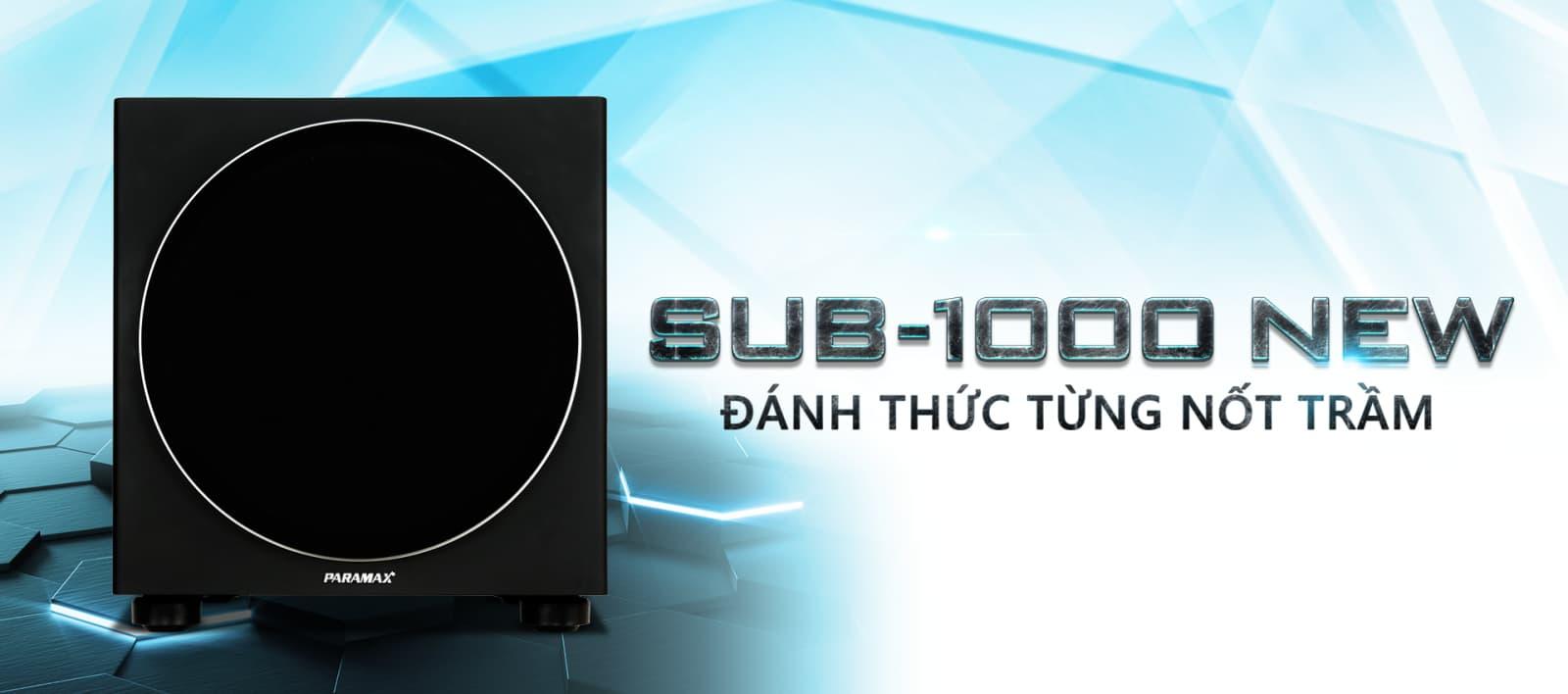 Loa sub Paramax SUB-1000 công suất 500 Watt