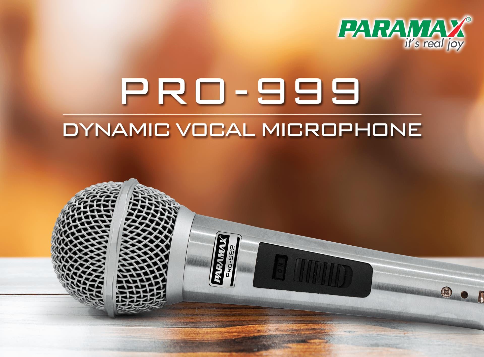 Micro Paramax pro-999