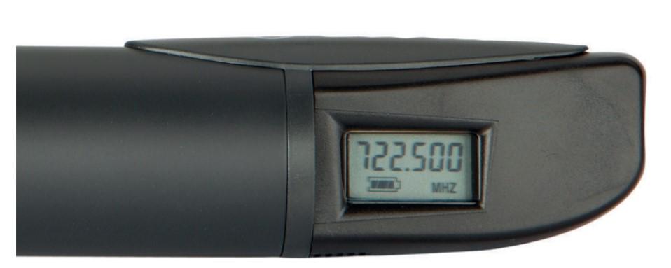 Micro khong day Bosch MW1-HTX-F5 voi man hinh LCD