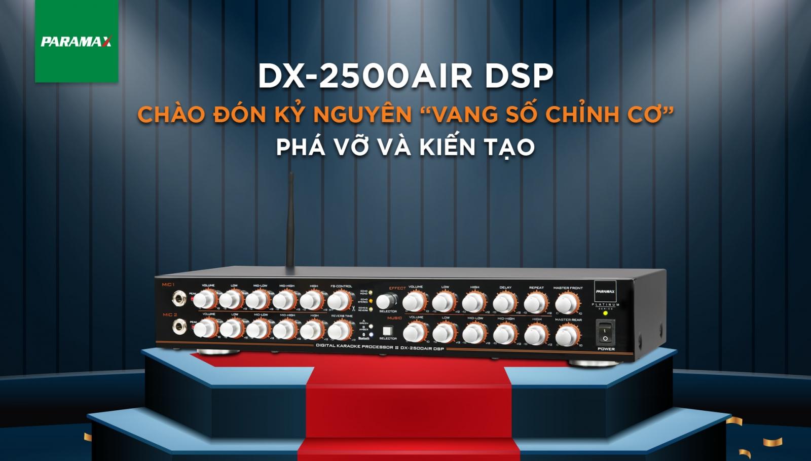 vang số Paramax DX-2500AIR