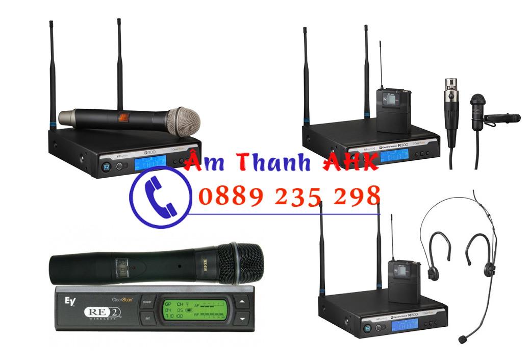 Micro khong day Electro Voice