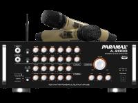 Amply Paramax A-1000 của combo CBZ-2000