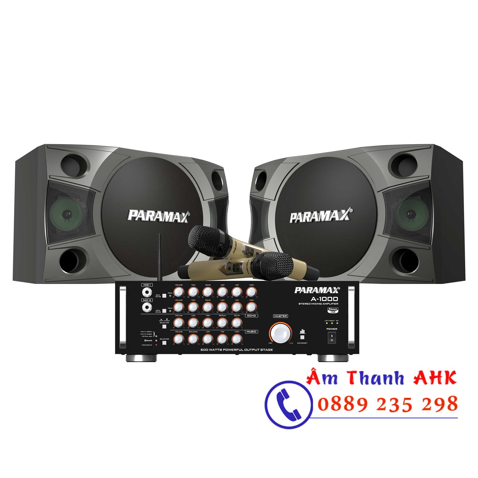 Dàn-karaoke-Paramax-CBX-1000