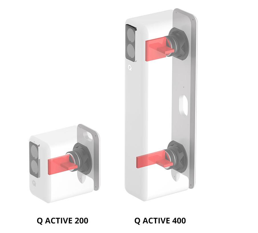 Loa đặt sàn không dây Q Active 400 6