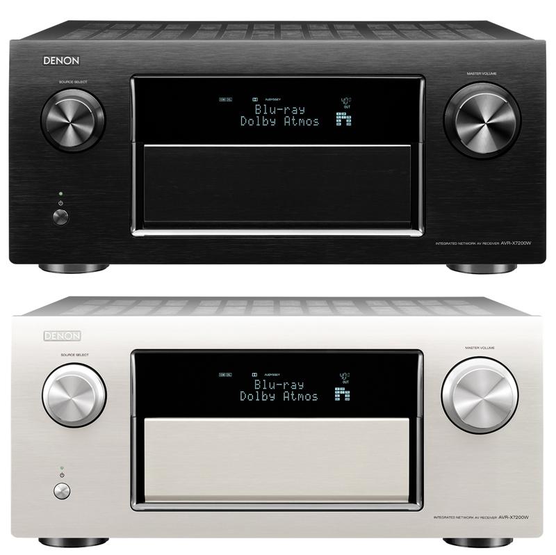 Ampli nghe nhạc xem phim cao cấp Denon AVR-X7200W