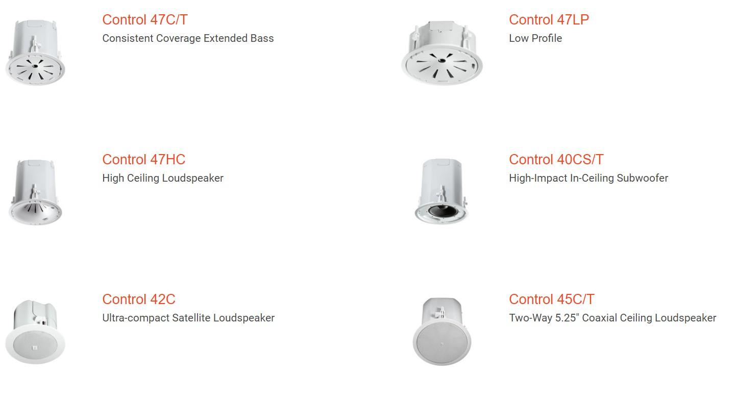 Loa am tran Control 40 Series Constant-Directivity