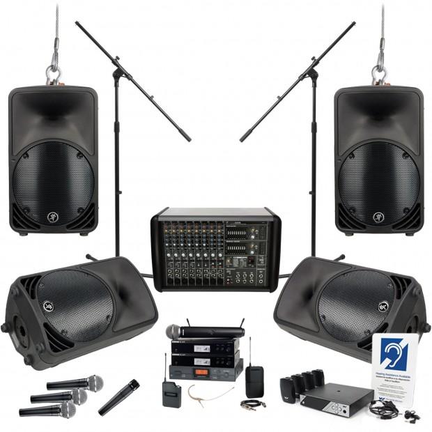 Dàn âm thanh nhà thờ Mackie PPM1088 4 C200 Loudspeakers