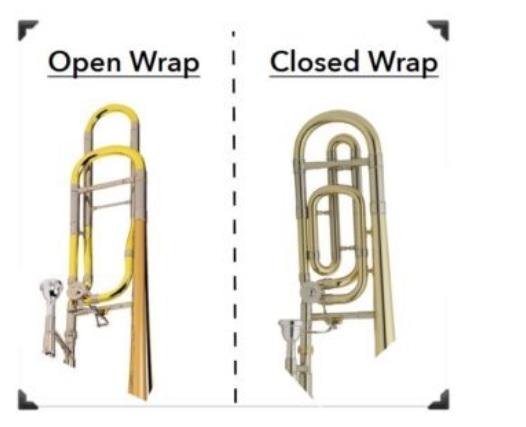 Open wrap- Closed wrap