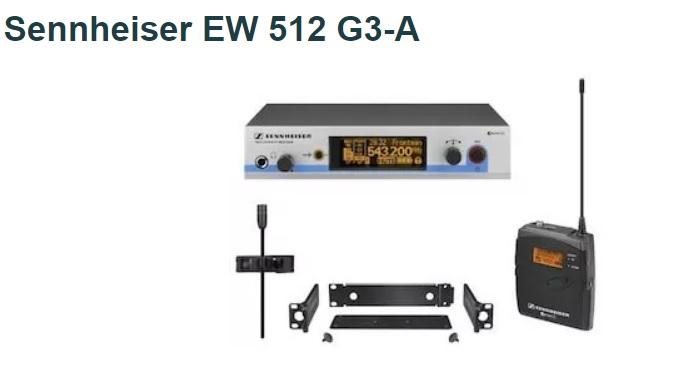 Sennheiser EW 512 G3-A