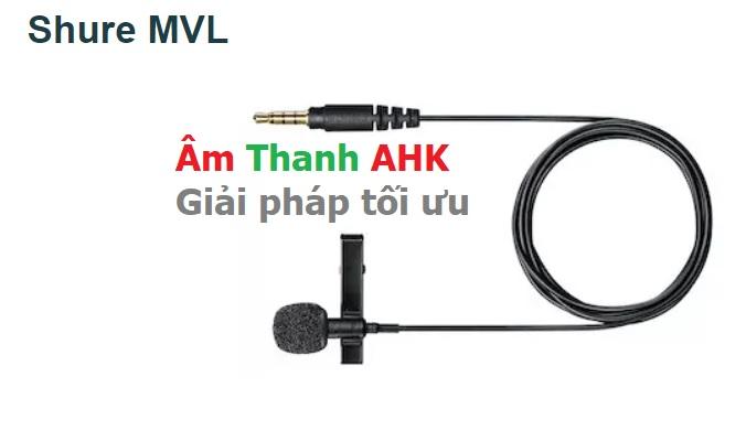 Shure MVL