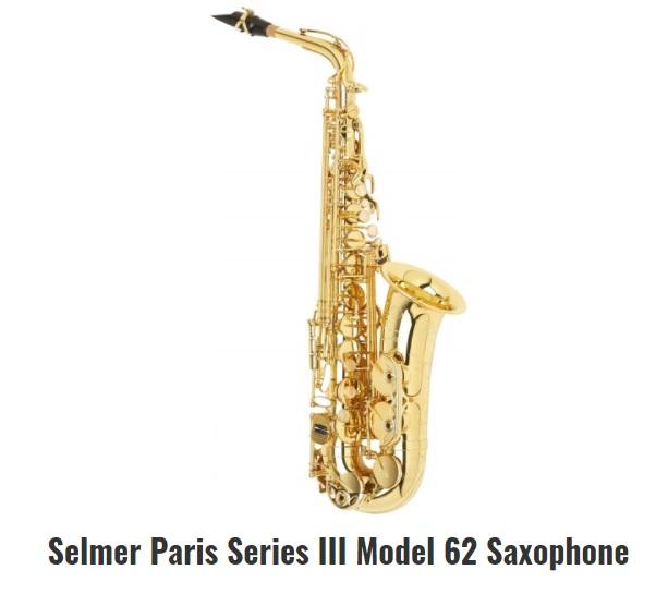 The Series III 62 alto saxophone