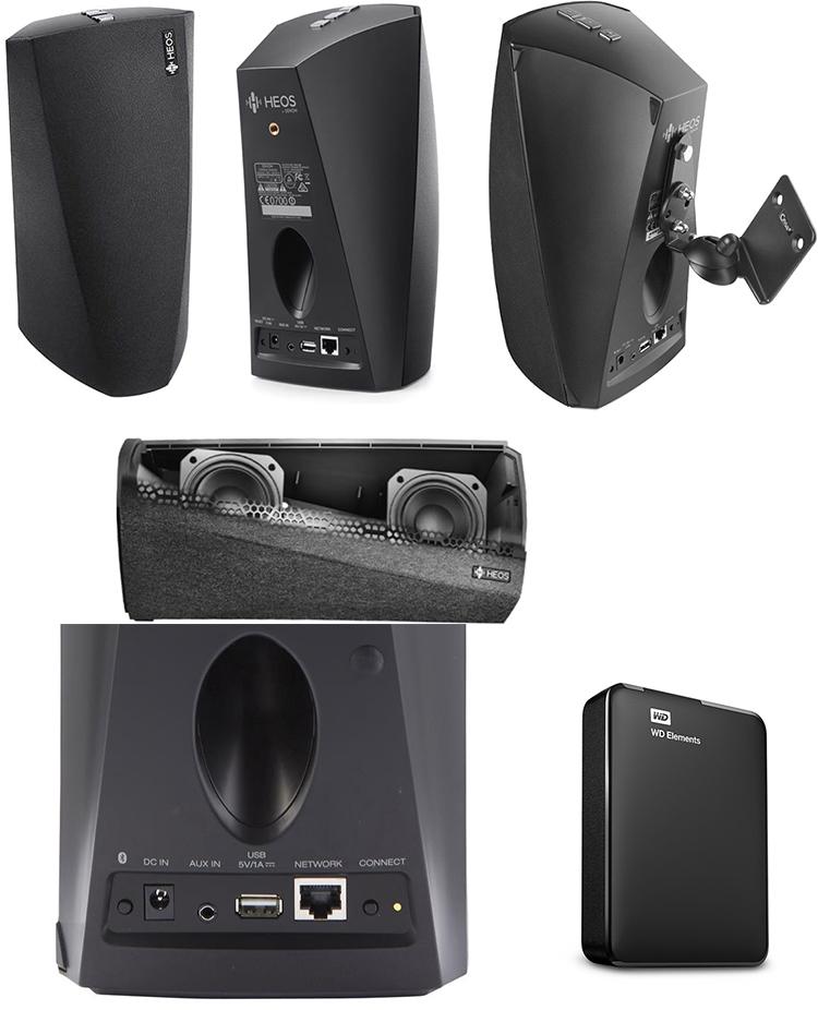 Loa Bluetooth Denon HEOS 3 HS2 chính hãng
