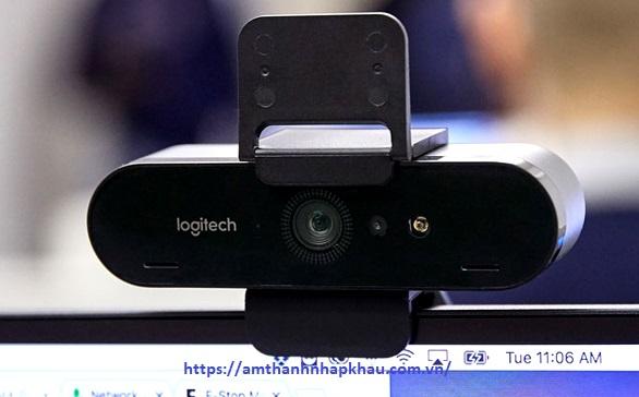 Webcam Logitech BRIO thiết kế đa năng
