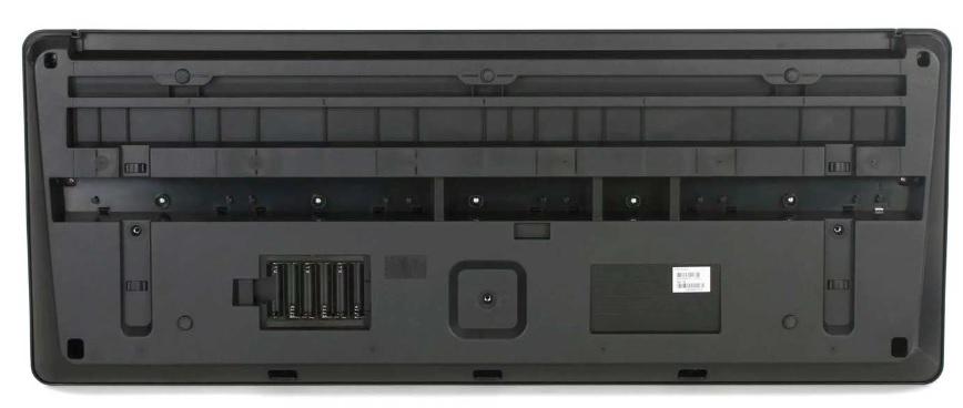 Mặt sau đàn PsR-E373