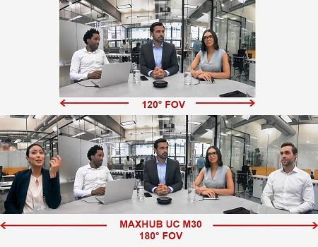 Maxhub UC M30 góc nhìn siêu rộng
