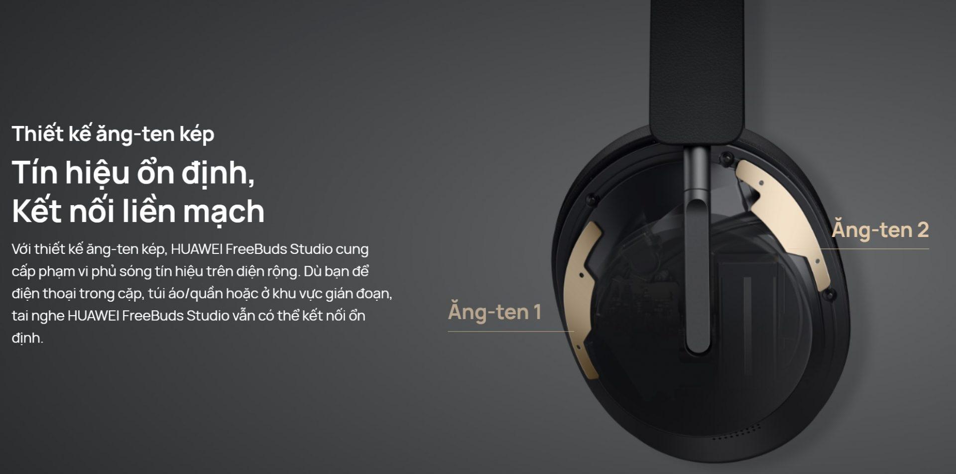 Tai nghe Huawei FreeBuds Studio 13