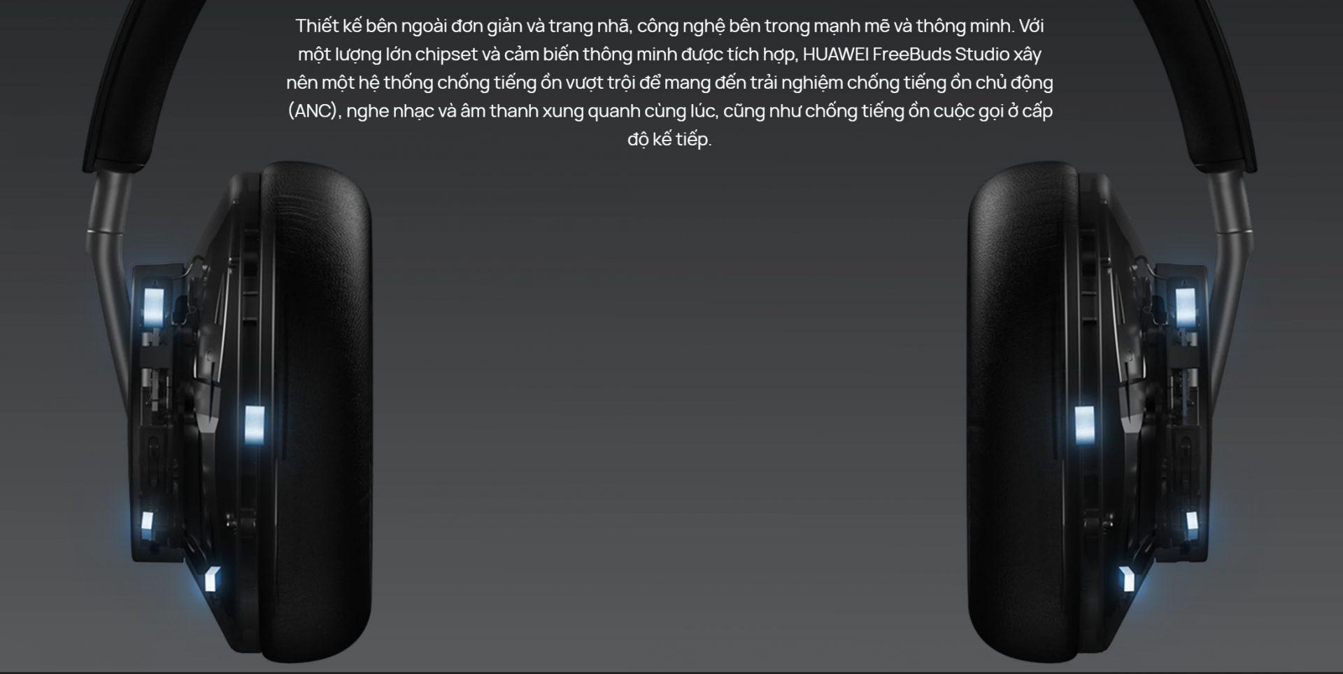 Tai nghe Huawei freebuds studio chống ồn thông minh