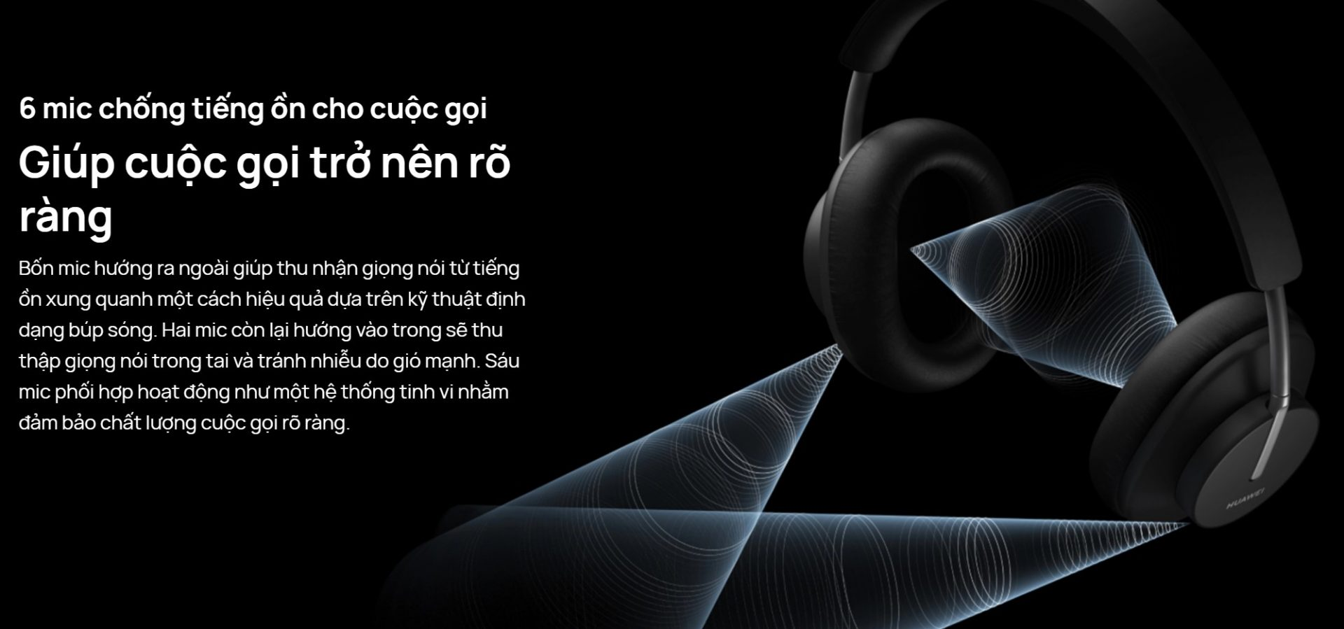 Tai nghe Huawei FreeBuds Studio 10