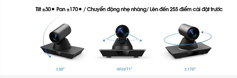 Webcam họp trực tuyến Maxhub UC P20 nhiều góc quay
