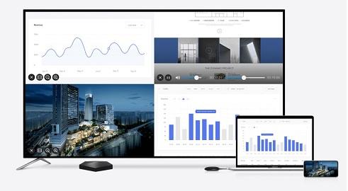 Bộ trình chiếu không dây Maxhub WB01B tương tác đa màn hình