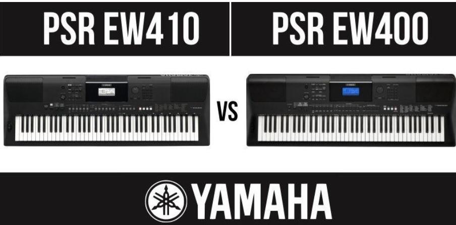 Yamaha PSR EW410 vs Yamaha PSR EW400