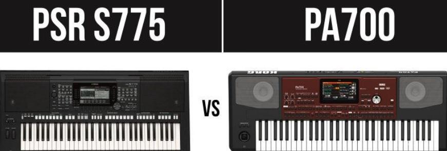 Yamaha PSR S775 vs Korg PA700