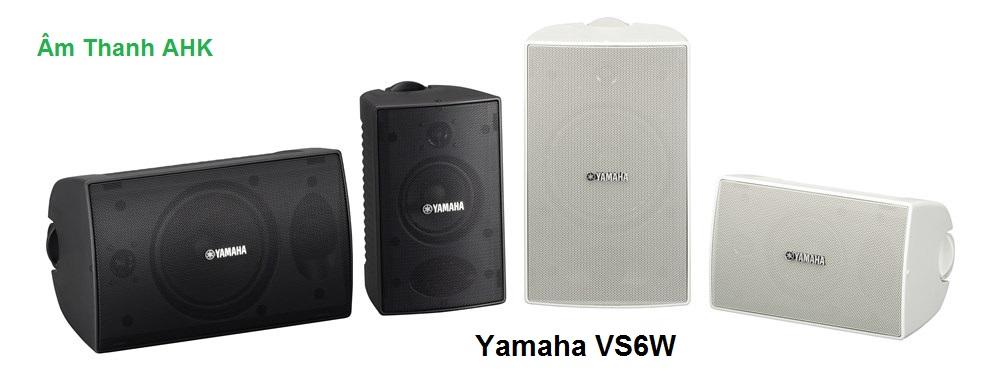 Loa treo tường Yamaha VS6W thiết kế nhỏ gọn