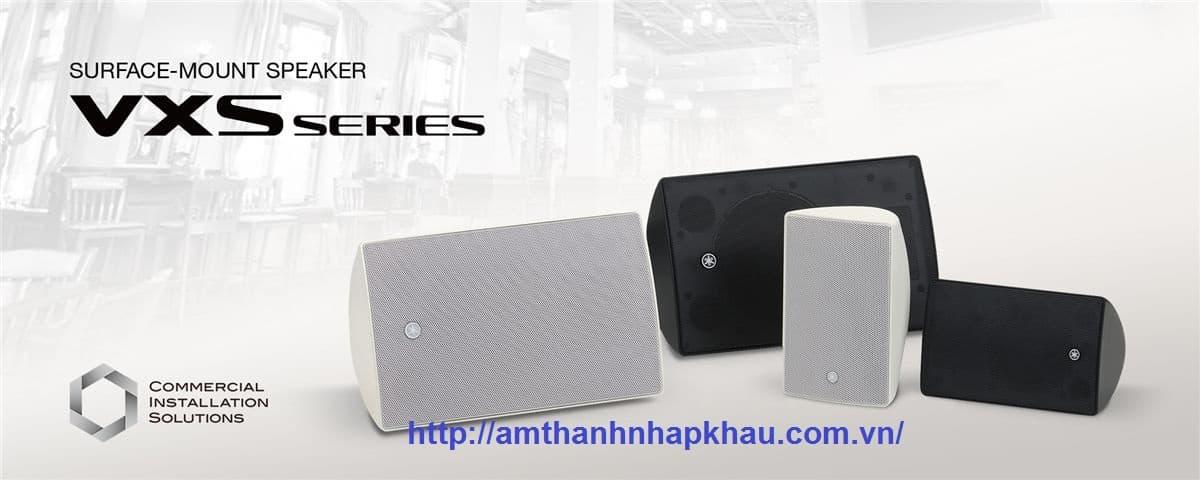 Loa treo tường Yamaha VXS5 có giá đỡ riêng để lắp đặt an toàn