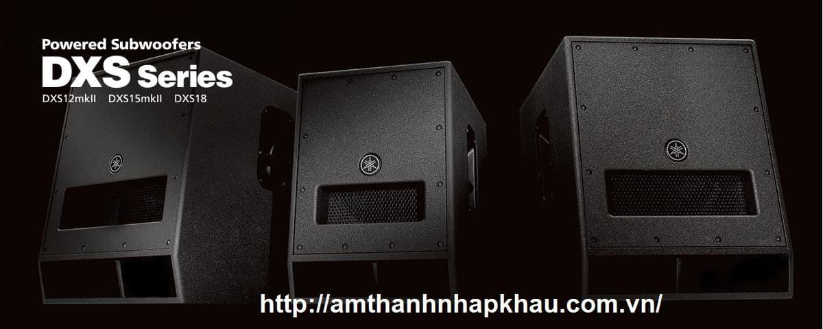 Loa siêu trầm Yamaha DXS18 có độ nhạy tốt nhất trong