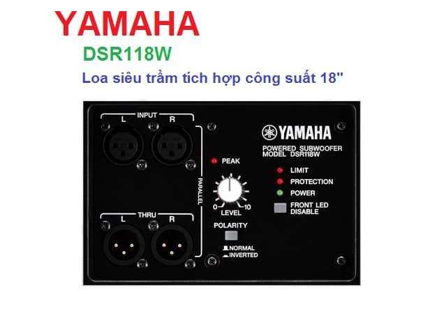 Loa siêu trầm Yamaha DSR118W công suất cao