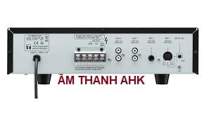 Amply Mixer 30W TOA A-230 HV mặt sau