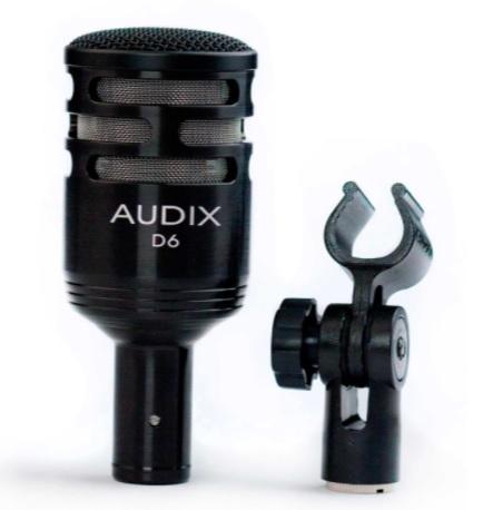 Audix D6 kèm phụ kiện
