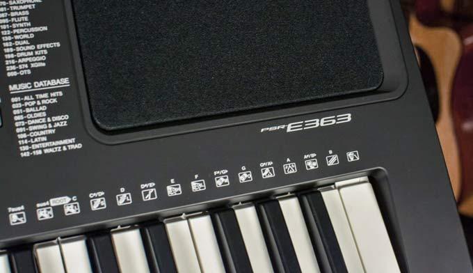 Bố trí loa của E363