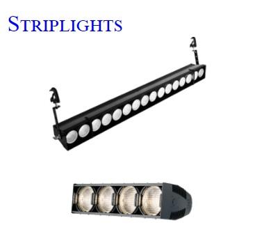 Đèn Striplights chiếu sáng dải