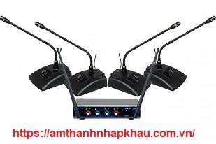Hệ thống hội nghị kỹ thuật số 4 kênh VocoPro