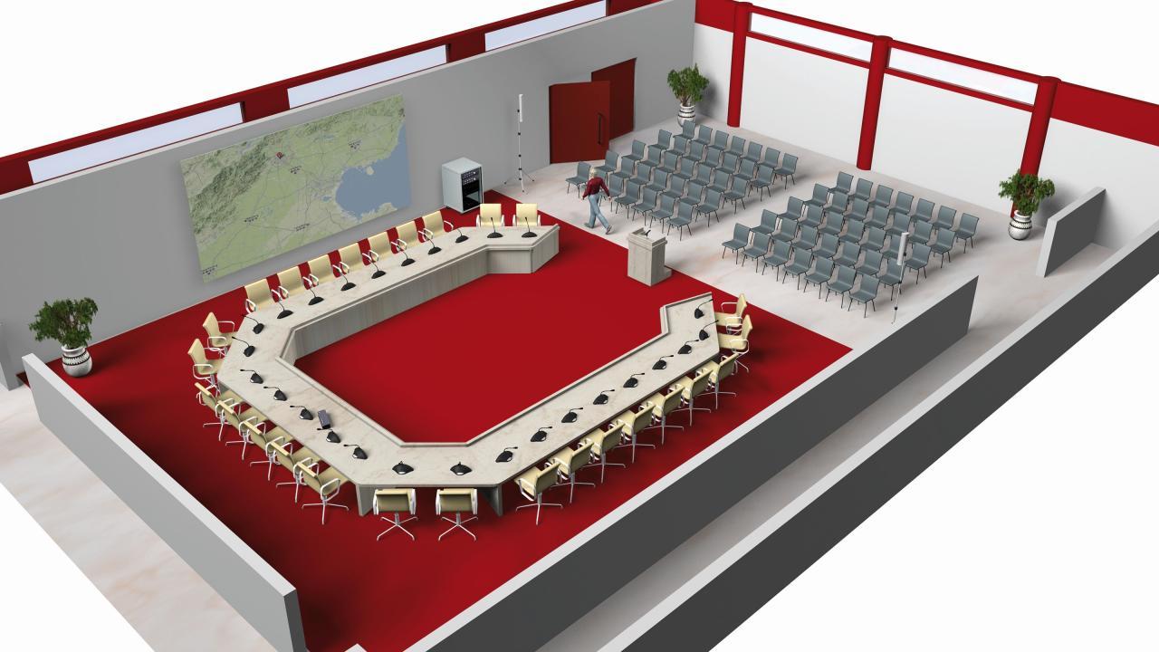 Hệ thống hội thảo BOSCH CCS 900 6