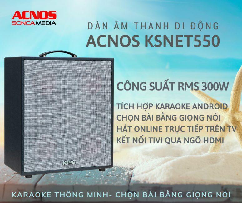 Bộ hát karaoke mini KSNET550
