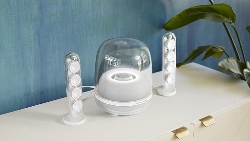 Loa Bluetooth Harman Kardon SoundSticks 4 thiết kế đẹp mắt