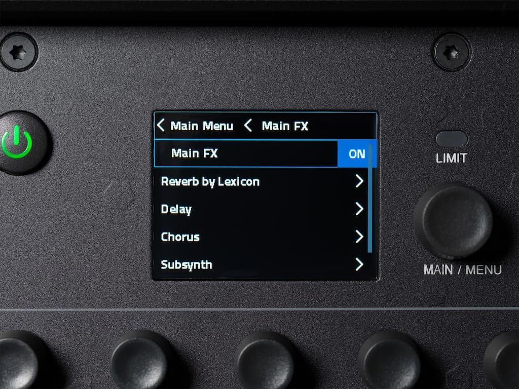 Loa JLB PRX ONEvới man hinh LCD mau