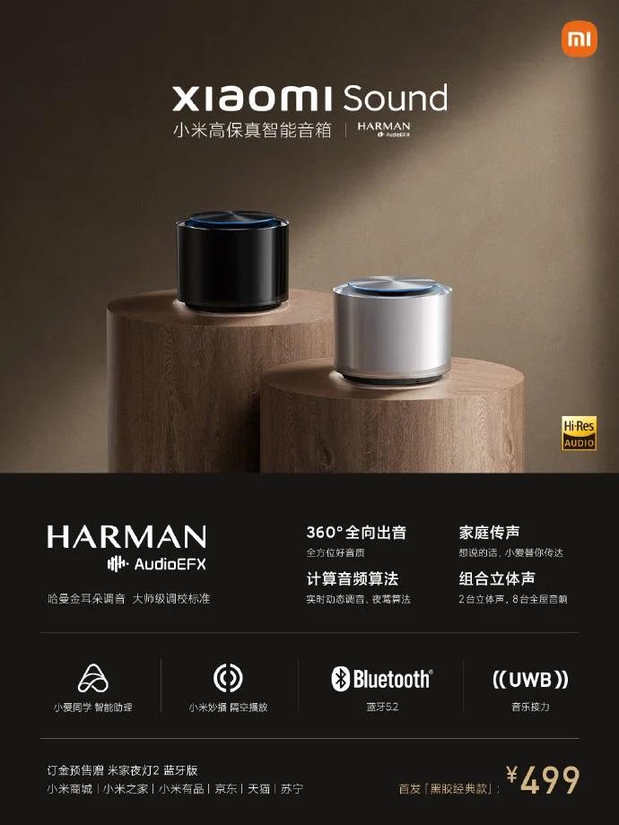Loa Xiaomi Sound sở hữu nhiều công nghệ đáng tiền
