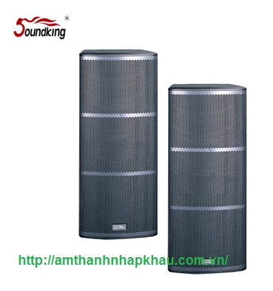 Loa full đôi Soundking FHE212 là loa full đôi 3 tấc liền công suất 650 W