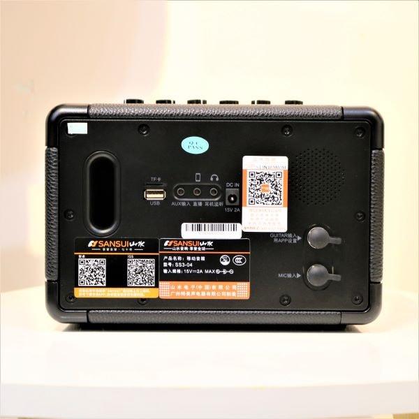 Loa karaoke mini SANSUI SS3-04 4