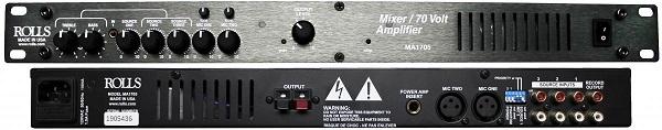 Amply mixer Rolls MA1705 70W